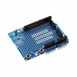 Mini Breadboardlu Arduino UNO R3 Proto Shield Kiti - Thumbnail