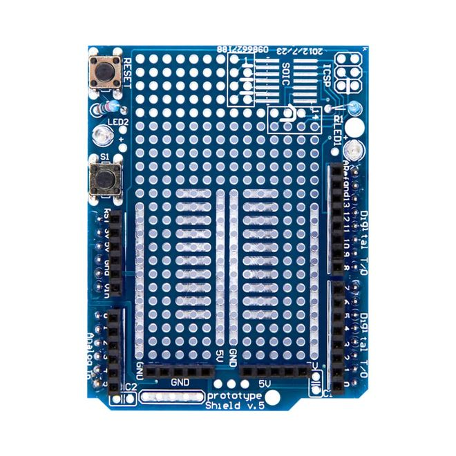 Mini Breadboardlu Arduino UNO R3 Proto Shield Kiti