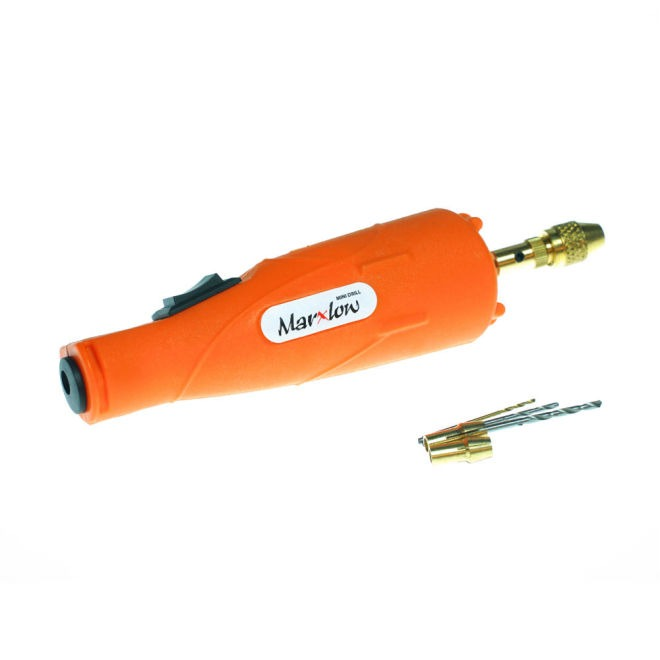 Mini Drill 12V DC PCB Drill - Orange