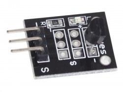 Mini DS18B20 Sıcaklık Sensörü Kartı - Thumbnail