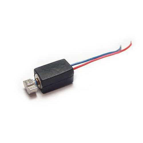 4.5 mm x 8 mm Mini Kablolu Titreşim Motoru - Silikon Kılıflı