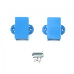 Robotistan - Mini Metal Gearmotor Bracket - Blue