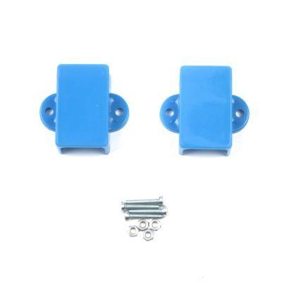 Mini Metal Gearmotor Bracket - Blue