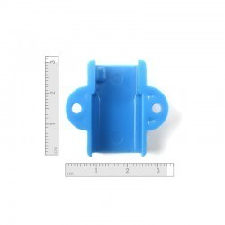 Mini Metal Gearmotor Bracket - Blue - Thumbnail