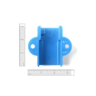 Mini Metal Gearmotor Bracket - Blue