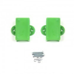 Robotistan - Mini Metal Gearmotor Bracket - Green