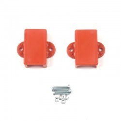Robotistan - Mini Metal Gearmotor Bracket - Orange