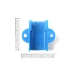 Mini Metal Motor Tutucu - Mavi - Thumbnail