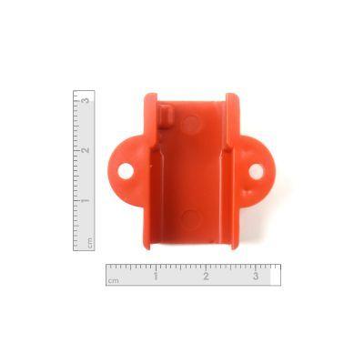 Robotistan - Mini Metal Motor Tutucu - Turuncu (1)