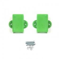 Robotistan - Mini Metal Motor Tutucu - Yeşil
