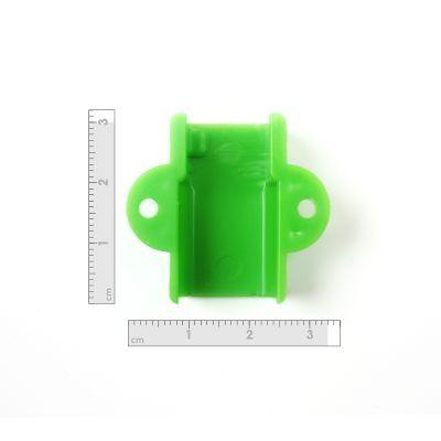 Robotistan - Mini Metal Motor Tutucu - Yeşil (1)