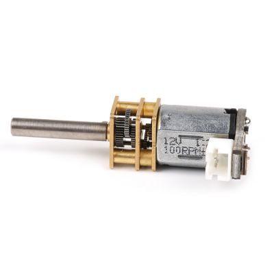 Metal Redüktörlü Mikro Motor 100 RPM - N20 DC 12 V - 80600