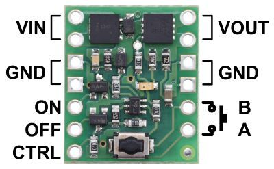 Mini Pushbutton Power Switch with Reverse Voltage Protection, LV - PL2808
