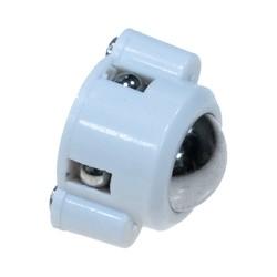 Robotistan - Mini Sarhoş Teker (Plastik Gövde + Metal Top)