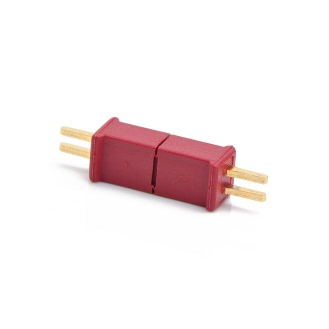 Mini T Plug Batarya Konnektörü (WLtoys W977 Mini Uyumlu) (Erkek-Dişi Set)