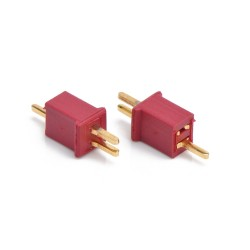 China - Mini T Plug Battery Connector (WLtoys W977 Mini Compatible) (Male-Female Set)