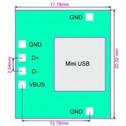 Mini Usb Dip Dönüştürücü - Thumbnail