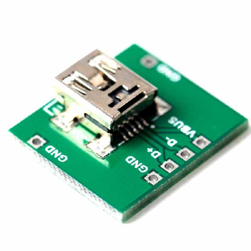 buy mini usb type  female  dip converter  cheap price