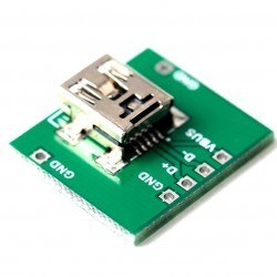 China - Mini USB Type-B (Female) to DIP Converter