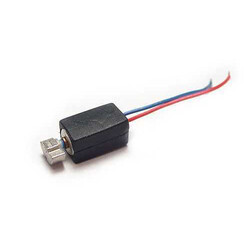Robotistan - Mini Vibration Motor with Cable and Rubber Protection