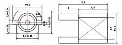 MMCX-C-KE - RF Connector - Thumbnail