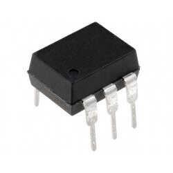 TEMIC - MOC3023 (K3023P) - DIP6 Optokuplör