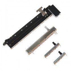 Motorlu Doğrusal/Lineer Potansiyometre - (10k Audio Taper) - Thumbnail