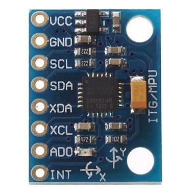 MPU6050 6 Eksen İvme ve Gyro Sensörü - GY-521
