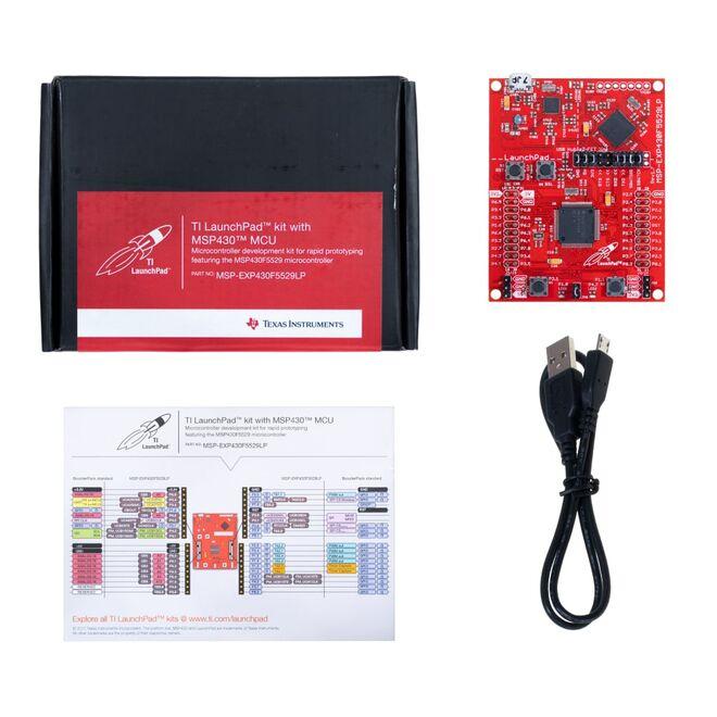 MSP-EXP430F5529 Development Kit (MSP430F5529 Launch Pad)