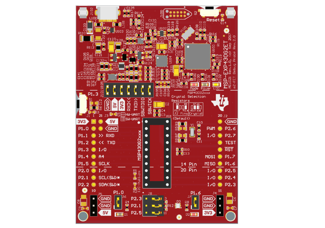MSP-EXP430G2ET Rev 1.5 LaunchPad (MSP430 Rev 1.5 Development Kit)