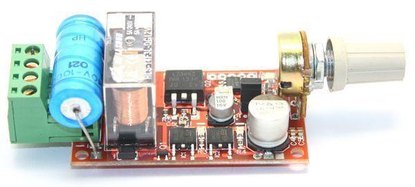 MX1 İvmeli DC Motor Hız Kontrol Devresi