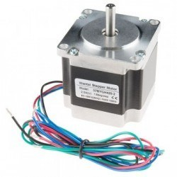 Pololu - Bipolar/Unipolar NEMA 23 200 Adım 57x56 mm 7.4 V Step Motor - PL-1472