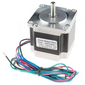 Bipolar/Unipolar NEMA 23 200 Adım 57x56 mm 7.4 V Step Motor - PL-1472