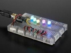 NeoPixel 5mm RGB LED - 5 Pack - Thumbnail