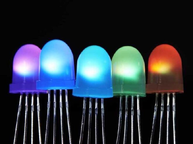 NeoPixel 8 mm RGB Led (5'li paket)