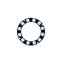 Robotistan - NeoPixel Ring - 12 x 5050 RGB LED with Integrated Drivers
