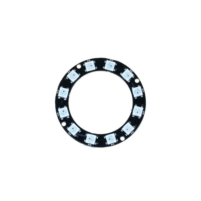 NeoPixel Ring - 12 x 5050 RGB LED with Integrated Drivers