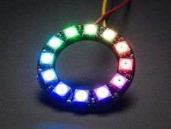 China - NeoPixel Ring - 12 x 5050 RGB LED with Integrated Drivers