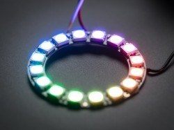 NeoPixel Ring - 16 x 5050 RGB LED with Integrated Drivers - Thumbnail