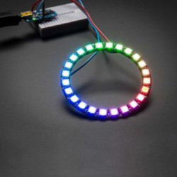 China - NeoPixel Ring - 24 x 5050 RGB LED with Integrated Drivers
