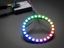 NeoPixel Ring - 32 x 5050 RGB LED with Integrated Drivers - Thumbnail