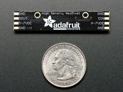 NeoPixel Stick - 8 x 5050 RGB with Integrated Drivers