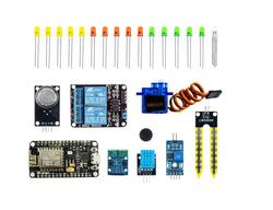 NodeMCU IOT Proje Geliştirme Seti - Arduino IDE ile Programlanabilir (E-Kitap Hediyeli) - Thumbnail