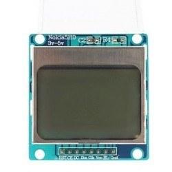 Nokia 5110 Ekranı - 84x48 Grafik LCD - Thumbnail