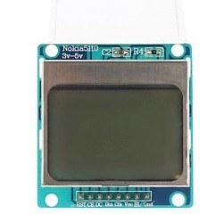 Nokia 5110 Screen - 84x48 Graphic LCD - Thumbnail