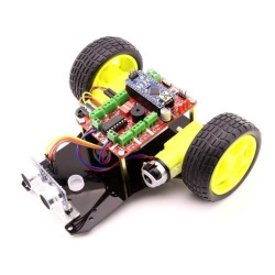 Jsumo - Object Avoidance Robot - Four Eyes (Assembled)