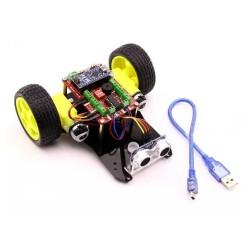 Object Avoidance Robot - Four Eyes (Assembled) - Thumbnail