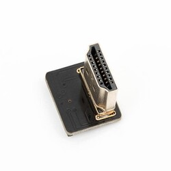 ODSEVEN - Odseven DIY HDMI Cable Parts - Left Angle (L Bend) HDMI Plug Adapter