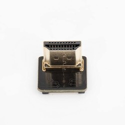 Odseven DIY HDMI Cable Parts - Left Angle (L Bend) HDMI Plug Adapter - Thumbnail