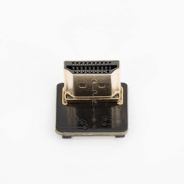 Odseven DIY HDMI Cable Parts - Left Angle (L Bend) HDMI Plug Adapter